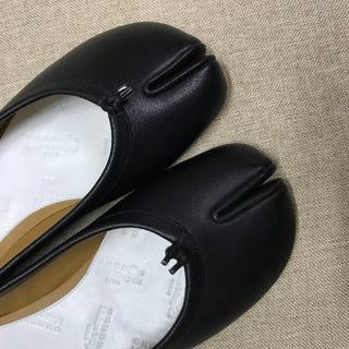 マルタンマルジェラ(Maison Martin Margiela)のメゾン マルジェラ足袋 バレエシューズ ブラック(バレエシューズ)