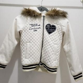 シマムラ(しまむら)のしまむら 女児 ジャンパー アウター コート 防寒着 140(ジャケット/上着)