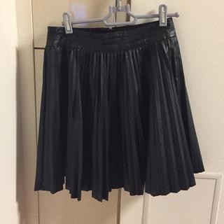 ジュエリウム(JEWELIUM)のJEWELIUM プリーツスカート 超美品(ひざ丈スカート)