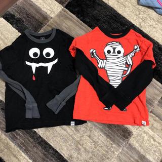 ギャップキッズ(GAP Kids)のキッズGAP中古美品ロンT二枚セット(Tシャツ/カットソー)