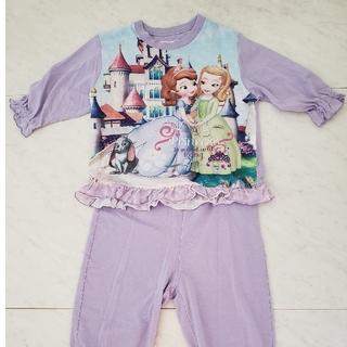 ディズニー(Disney)のちいさなプリンセスソフィア パジャマ 110(パジャマ)