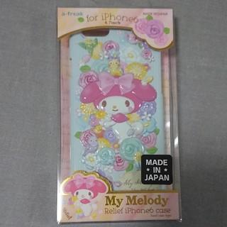 マイメロディ(マイメロディ)の新品  iPhone6 ケース  マイメロディ(4.7inch)  日本製(iPhoneケース)