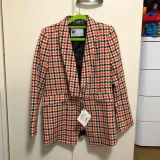 スライ(SLY)の新品タグ付き定価13440円スライジャケット (テーラードジャケット)