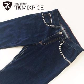 ティーケー(TK)のTHE SHOP TK スタッズ赤耳デニムストレート約78cm(デニム/ジーンズ)