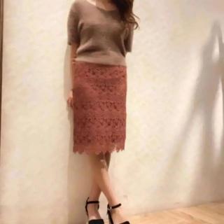ココディール(COCO DEAL)のCOCODEAL♡レースタイトスカート(ひざ丈スカート)