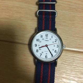 タイメックス(TIMEX)の[naomi様専用]TIMEX タイメックス ネイビー/レッド※(値引きあり)(腕時計(アナログ))