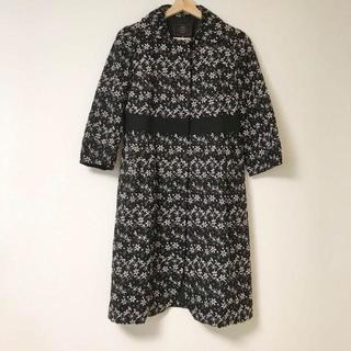 トッカ(TOCCA)のTOCCA 刺繍コート.(ロングコート)