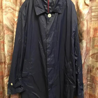 トラベルコート  XLサイズ  紺(ステンカラーコート)