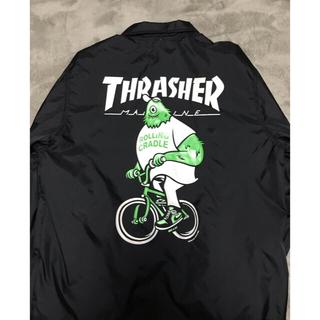 スラッシャー(THRASHER)のThrasher ロリクレ コーチジャケット S(ナイロンジャケット)