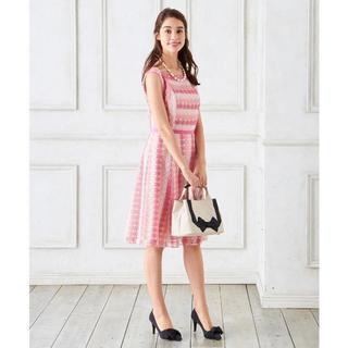 トッカ(TOCCA)のTOCCA 2018 定価6万 ALL DAY ドレス.(ひざ丈ワンピース)