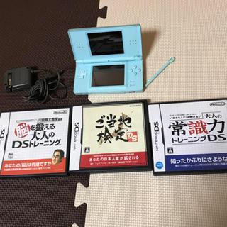 ニンテンドーDS(ニンテンドーDS)のニンテンドーDS light ソフト3点(携帯用ゲームソフト)