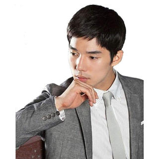 J&S 人毛100% 紳士ヘアピース 手植え かつら 医療用 メンズウィッ(その他)