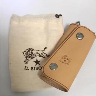 イルビゾンテ(IL BISONTE)の【新品!】ILBISONTE イタリア本店購入!キーケース ヌメ(キーケース)
