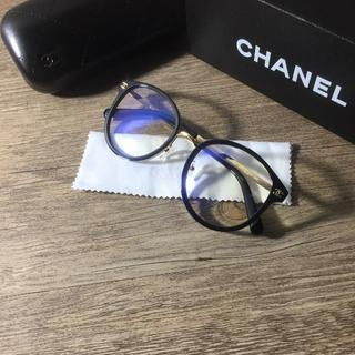 CHANEL - シャネル メガネフレーム ブラック