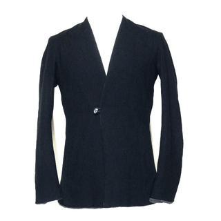 ien(リアン)lapelless jacket ラペルレスジャケット(ノーカラージャケット)