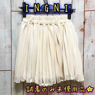 イング(INGNI)の試着のみ★イング プリーツミニキュロット M(キュロット)