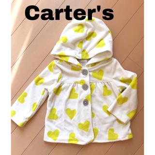 カーターズ(carter's)のお値下げ中【美品】カーターズ 上着 フリース 75センチ(ジャケット/コート)