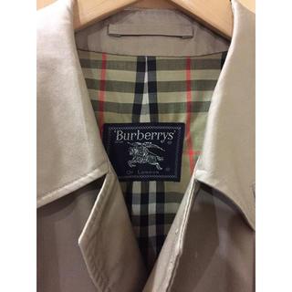 バーバリー(BURBERRY)の美品 BURBERRY ステンカラーコート(ステンカラーコート)