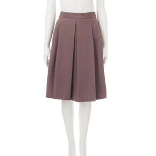 ココディール(COCO DEAL)のココディールの起毛タックフレアスカート(ひざ丈スカート)