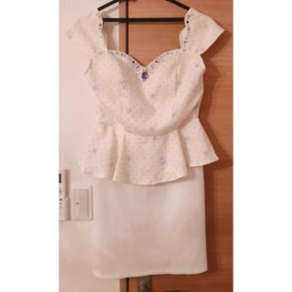 ジュエルズ(JEWELS)のキャバ 体型カバー ドレス(ミニドレス)