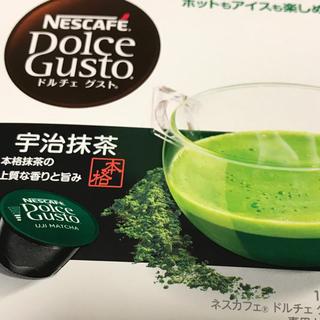 ネスレ(Nestle)のネスカフェ ドルチェ グスト 宇治抹茶16個入(コーヒー)