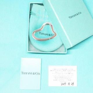 ティファニー(Tiffany & Co.)の未使用 ティファニー オープンハートキーリング(チャーム)