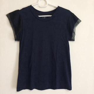 ニトカ(nitca)のnitca(ニトカ)チュール袖Tシャツ(Tシャツ(半袖/袖なし))