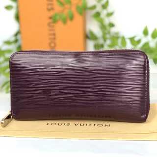 ルイヴィトン(LOUIS VUITTON)の✳︎ルイヴィトン ジッピーウォレット エピ カシス 長財布 正規品✳︎(財布)
