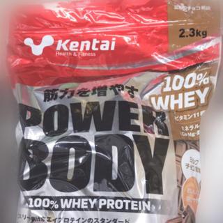 ケンタイ(Kentai)のプロテイン ミルクチョコ風味3kg 未開封(プロテイン)