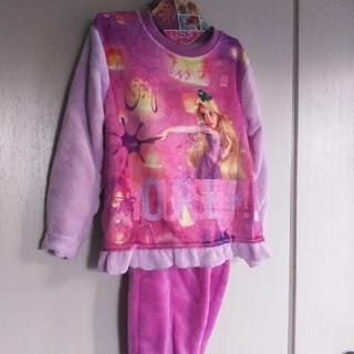 ディズニー(Disney)の新品!ディズニーラプンツェルふわふわパジャマ120(パジャマ)