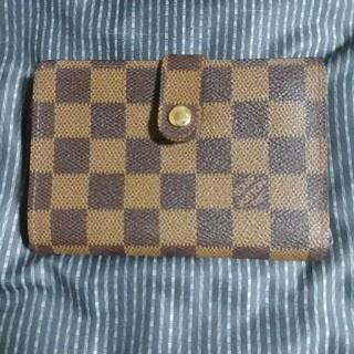 ルイヴィトン(LOUIS VUITTON)の【正規品】ルイヴィトン ダミエがま口財布(財布)
