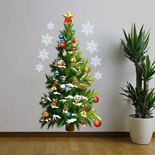 クリスマス ウォールステッカー 12月上旬発送(その他)