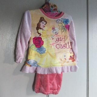 ディズニー(Disney)の新品!ディズニー美女と野獣ベルふわふわパジャマ100(パジャマ)