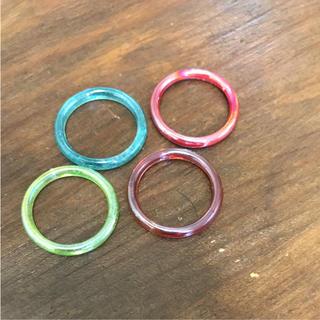 ガラスリング(リング(指輪))