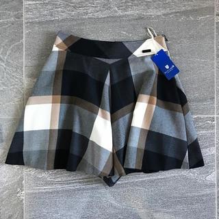 バーバリーブルーレーベル(BURBERRY BLUE LABEL)の新品タグ付き BLUE LABEL キュロットスカート 36(キュロット)