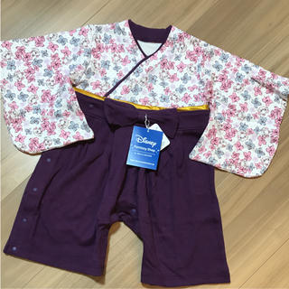 ディズニー(Disney)の新品タグ付き70袴はかまロンパースディズニーマリーちゃん⑤(和服/着物)
