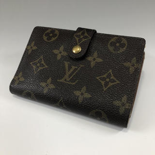 ルイヴィトン(LOUIS VUITTON)の正規品 ルイヴィトン モノグラム ヴィエノワ ガマ口 折り財布 EX5-52(財布)