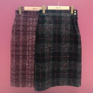 デイシー(deicy)の美品DEICY♡チェックタイトスカート(ひざ丈スカート)