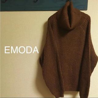 エモダ(EMODA)のEMODA ルーズネックショートセーター(ニット/セーター)