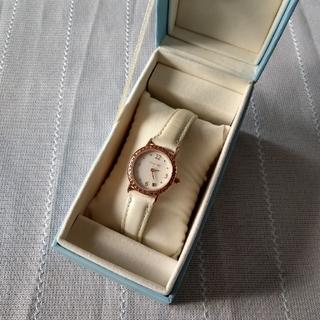カナルヨンドシー(canal4℃)のcanal 4℃ エメラルド入り腕時計(腕時計)