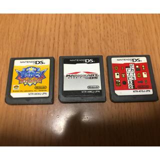 ニンテンドーDS(ニンテンドーDS)の任天堂DSソフト 星のカービイ、マリオカート、だれでもアソビ大全(携帯用ゲームソフト)