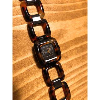 ニクソン(NIXON)のNIXON ニクソン べっ甲 腕時計(腕時計)