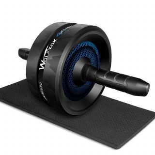 【最新進化版】! 超安定 アブローラー 腹筋ローラー マット付き(トレーニング用品)