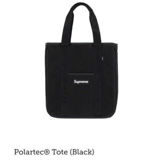 シュプリーム(Supreme)のブラック Supreme Polartec Tote Black 黒(トートバッグ)