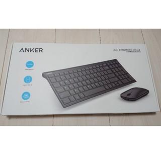 ワイヤレスキーボード マウスセット 充電式 Anker(PC周辺機器)