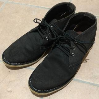 レッドウィング(REDWING)のRED WING  レッドウィング チャッカブーツ  BLACK_SUEDE(ブーツ)