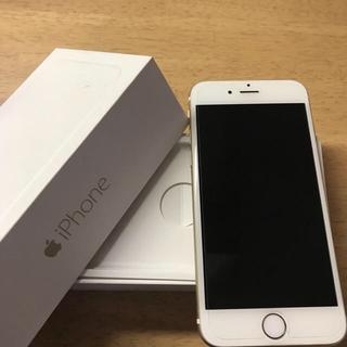 iPhone6   ゴールド