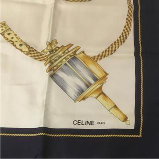 セリーヌ(celine)のCELINE セリーヌ スカーフ 未使用 正規品(バンダナ/スカーフ)