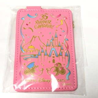 ディズニー(Disney)の【非売品】ディズニー パスケース(パスケース/IDカードホルダー)