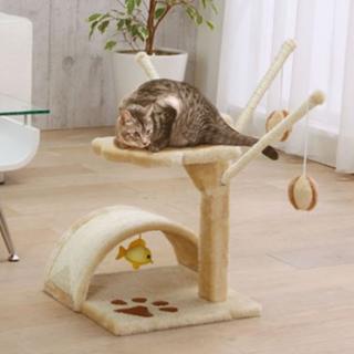即買いOK★小型キャットタワー(猫)